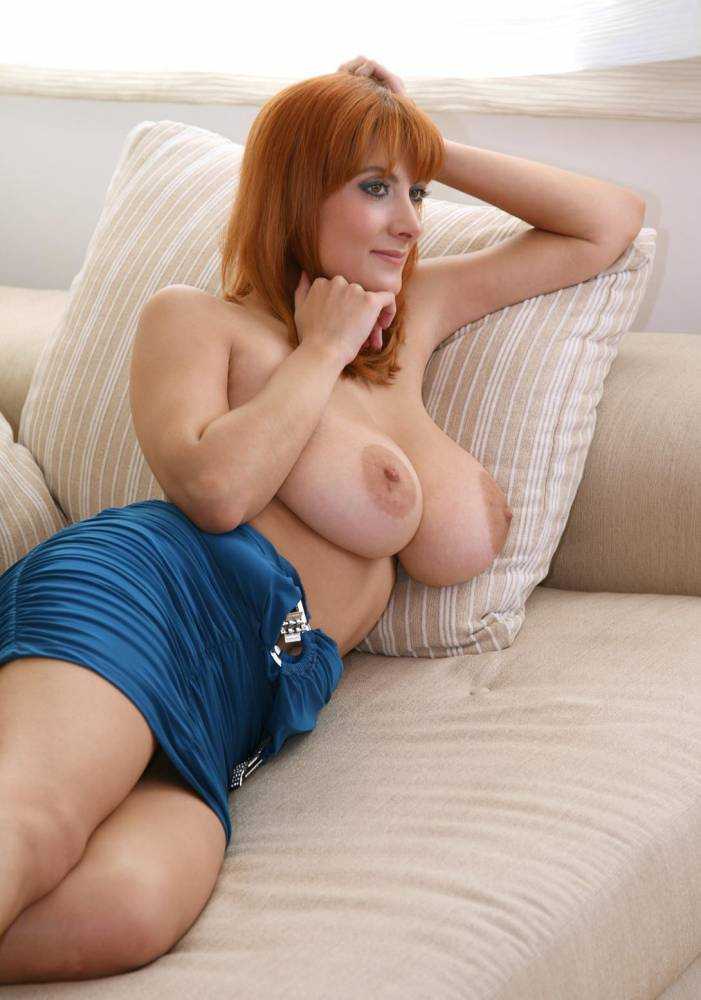 Big tit red haired mature women