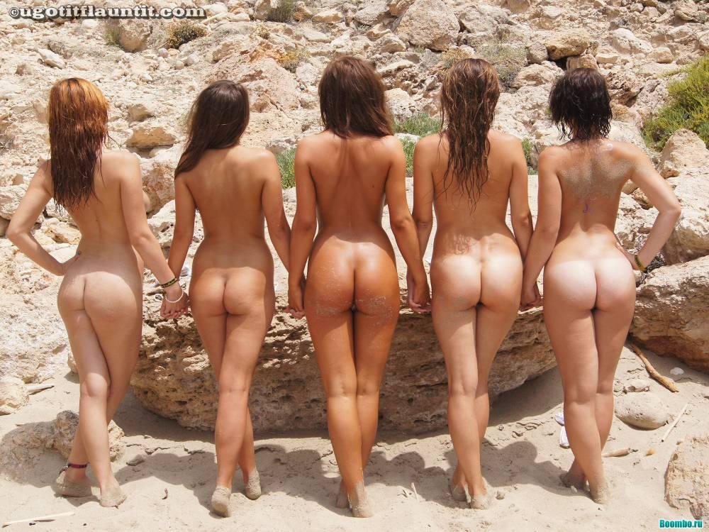 Nudistki na plyaje