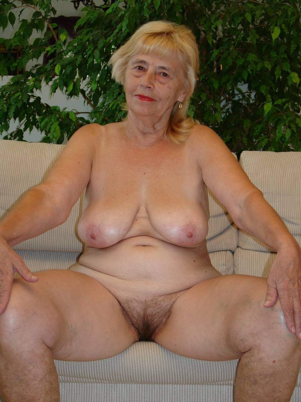 Tits skinny granny old women
