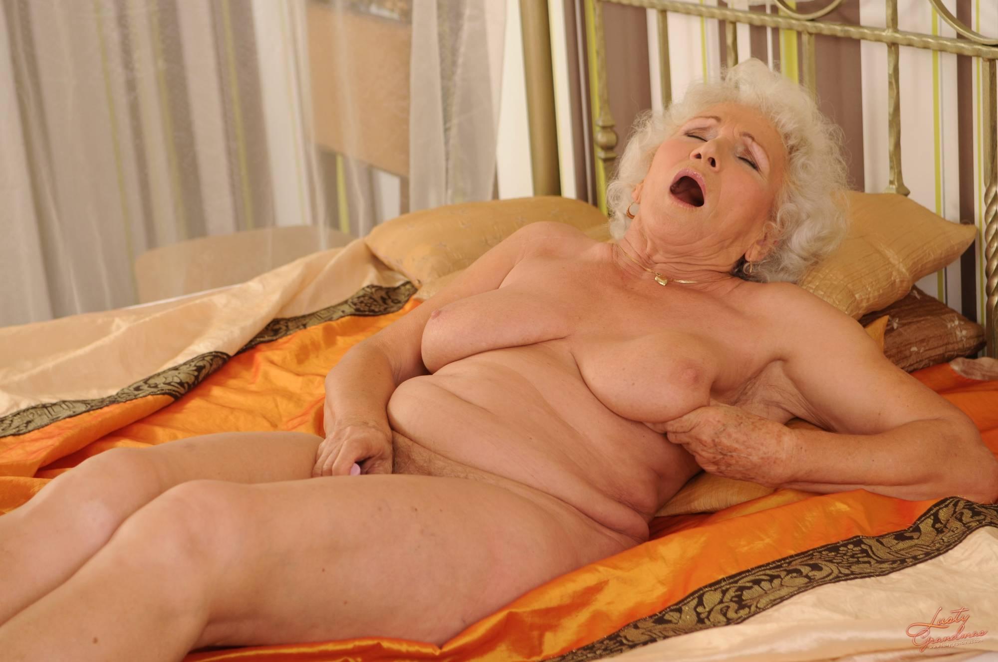 Blonde Erotic Grandmother