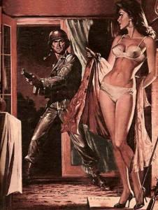 Амазонки - рисунки военной эротики