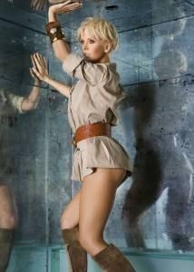 Певица Валерия под юбкой (ню фото)