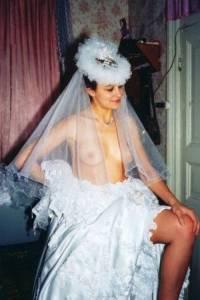 Русская ретро невеста из 80-х